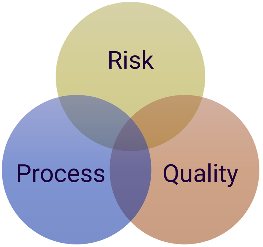 Information Governance Impact Areas - Risk, Process, and Quality